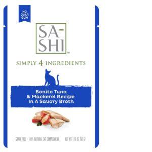 SA-SHI Bonito Tuna and Mackerel 1.76oz, 8ct display