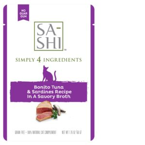 SA-SHI Bonito Tuna and Sardines 1.76oz, 8ct display