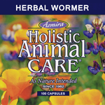 Supplements - Herbal Wormer 100 caps