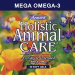 Supplements - Mega Omega-3 Pure fish oils 50 gelcaps